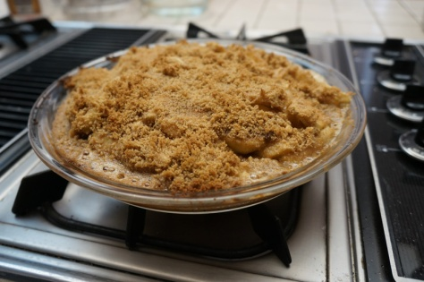 Walkers Shortbread apple pie crumble