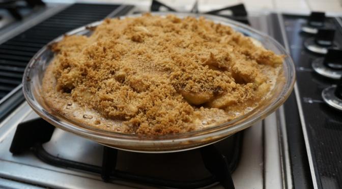 Recipe: Walkers Cookie Apple Crumble