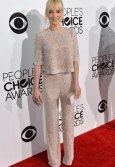 Anna Farris People's choice awards 2014 red carpet street style sparkly two pieces suit