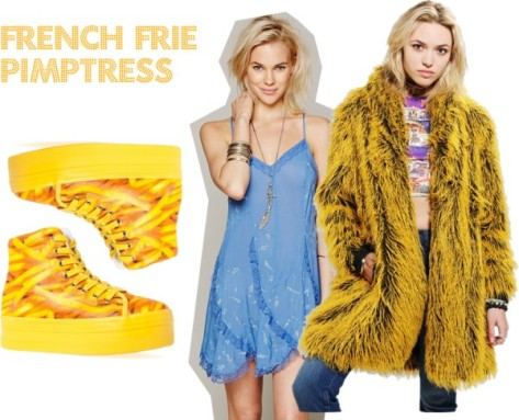 french frie pimptress