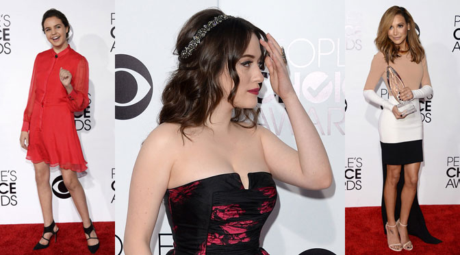 People's Choice Awards Best Dressed kat dennings naya rivera bailee madison