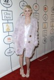 Miley Cyrus at the Clive Davis Pre-Grammys Gala 2014 red carpet street style fashion