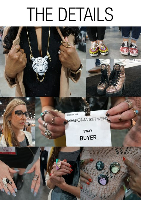 The Details Magic Las Vegas street style 2014 accessories statement glasses