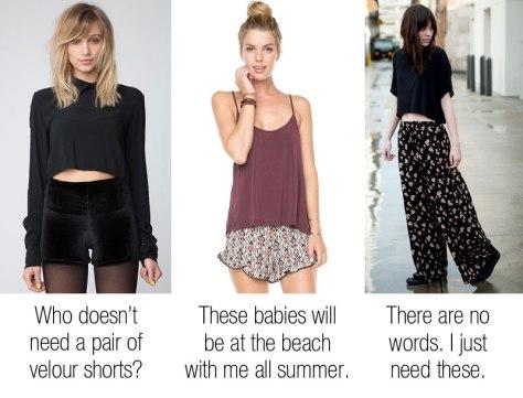 Brandy Melville Shorts and pants Aarika Pants  Bruna Shorts  Vodi Shorts